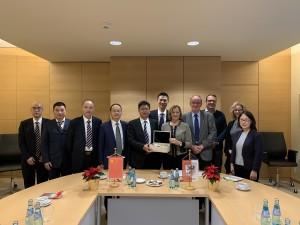 Delegation aus China 16.12.